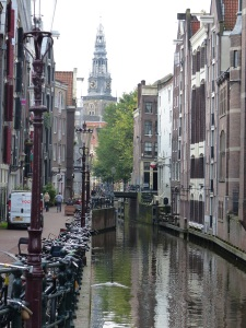 Amsterdam Canal and Bikes © Jess Bruce 2015